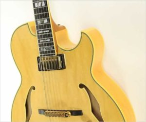 SOLD!!! Ibanez PM100 NT Pat Metheny Model Archtop Electric Natural, 2001
