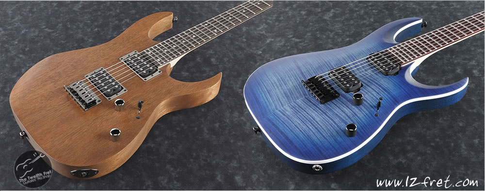 Ibanez RB and RGA Models - Quality and Versatility In A Beginner Electric Guitar - The Twelfth Fret