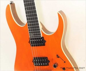 Ibanez RGR5221 Prestige Transparent Fluorescent Orange - The Twelfth Fret