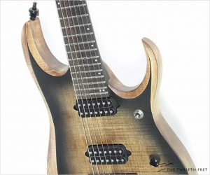 ❌SOLD❌ Ibanez RGD71AL Axion Label 7 String Antique Brown Stained Burst