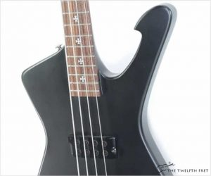 Ibanez SDB1 Iceman 'Sharlee D'Angelo' Bass Flat Black, 2008