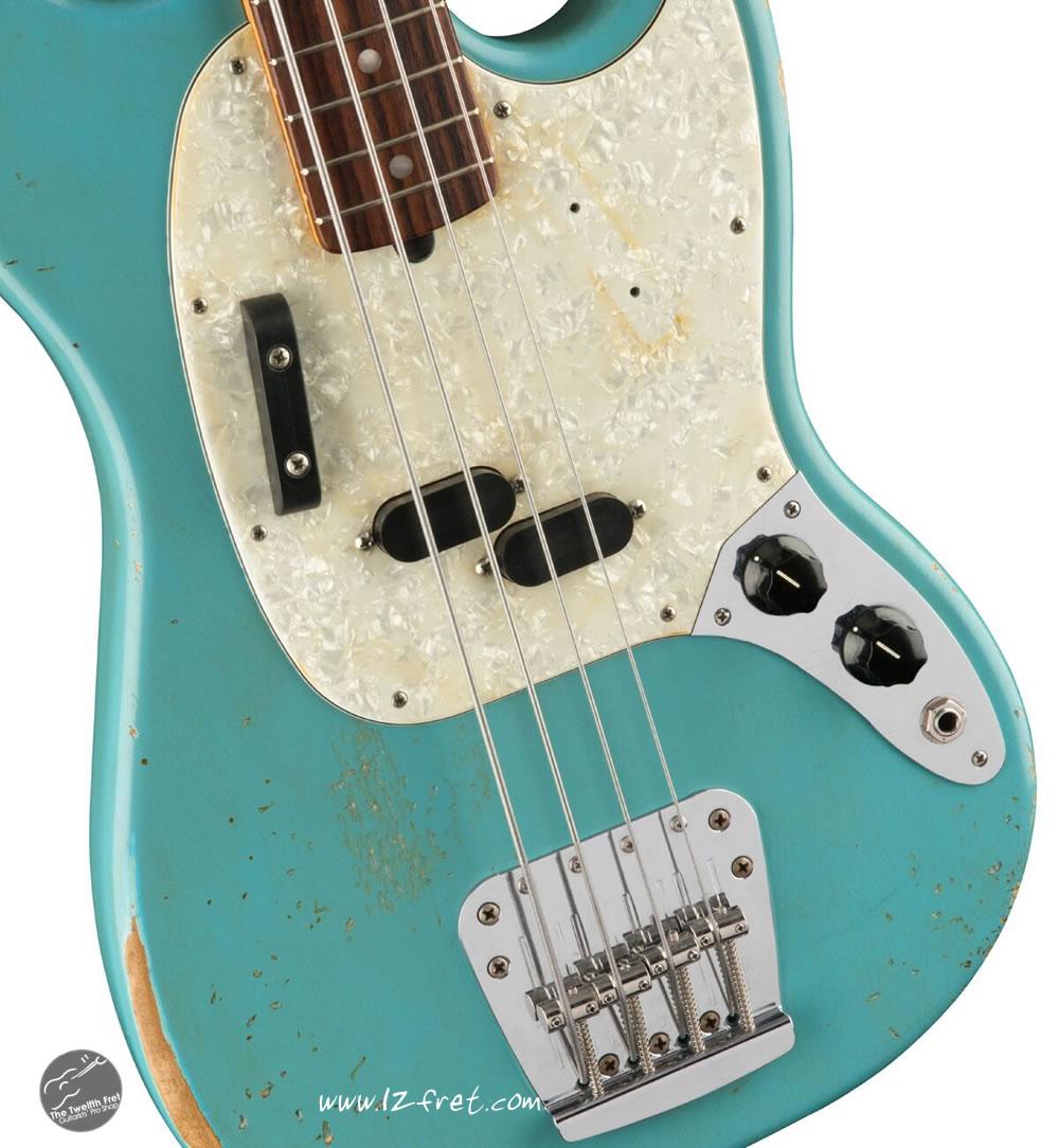 JMJ Road Worn Mustang Bass - The Twelfth Fret