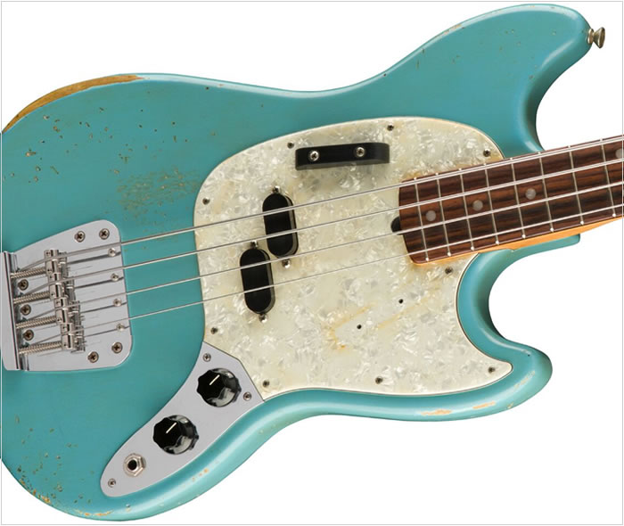 JMJ Road Worn Mustang Bass - The Twelfth Fret