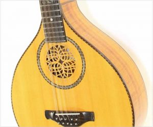 Jack Spira Cittern Australian Blackwood, 2005 - The Twelfth Fret