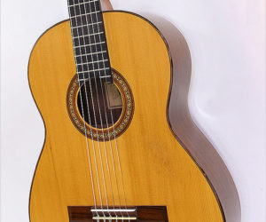 SOLD !  Jean-Claude Larrivee Classical Guitar, 1974