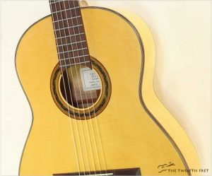 Jerry Farrell Maple Classical Guitar, 2017 - The Twelfth Fret