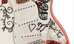 Fender Releases Limited Edition Jimi Hendrix Monterey Stratocaster in Honor Of Monterey International Pop Festival