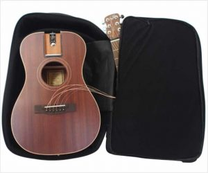 Journey Solid Top Mahogany Acoustic Travel Guitar