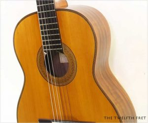 Julian Mario Rabaza Crossover Guitar, 1982 - The Twelfth Fret