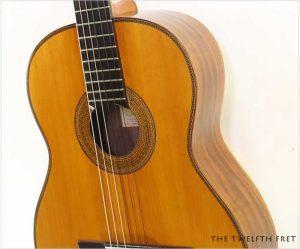 Julian Mario Rabaza Crossover Guitar, 1982 - The Twelfth Fret