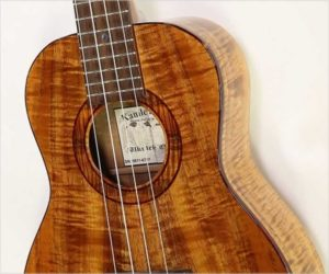 ❌SOLD❌  Kanile'a Koa Custom T Tenor Ukulele, 2007