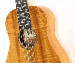 Kawika 6 String Ukulele by David Hurd, Koa 1996