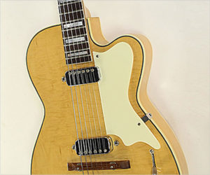 SOLD!!! Kay Pro K172 B Thinline Archtop Electric Guitar Honey Blonde, 1956
