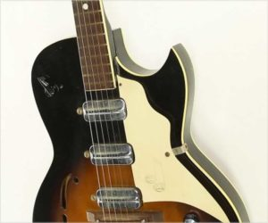 Kay 'TrueTone' Speed Demon K573 Thinline Sunburst, 1962