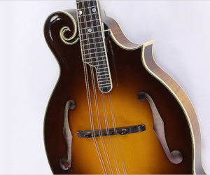 ❌ SOLD ❌  Kentucky KM-1500 F-Style Mandolin Sunburst, 2010