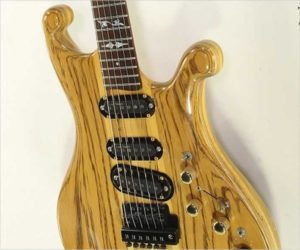 SOLD!!! Lado Falcon Custom Electric Solidbody Zebrawood, 1983