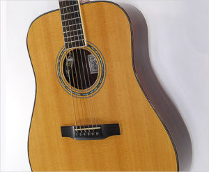 Larrivee D-09 Rosewood Dreadnought Guitar, 1996 - The Twelfth Fret