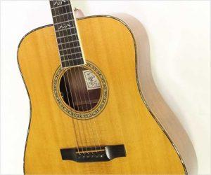 ❌SOLD❌ Larrivee D10 Dreadnought Steel String Guitar Natural, 1994