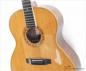 Laskin Cedar Top Steel String Guitar, 1977 - The Twelfth Fret