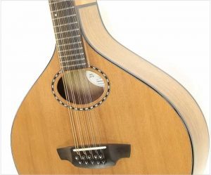 Lawrence Nyberg Cittern Black Walnut and Redwood, 2018 - The Twelfth Fret