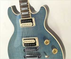 SOLD!!! Les Paul Standard Double Cutaway Limited 'Ocean Water' Blue, 2016