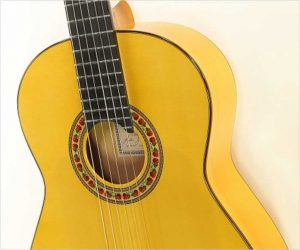 ❌SOLD❌  Lester DeVoe Flamenco Blanca Guitar, 2000
