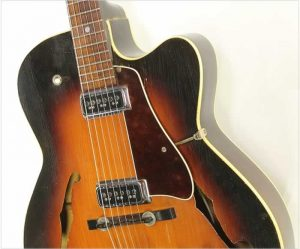Levin 335 M2 Archtop Electric Sunburst, 1962 - The Twelfth Fret