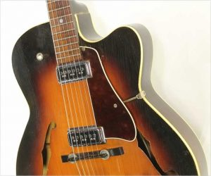 Levin 335 M2 Archtop Electric Sunburst, 1962