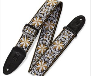 Levy's M8HT 60's Hootenanny Jacquard Weave Guitar Strap