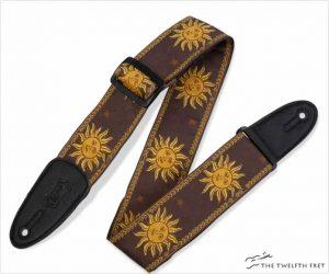 Levy's MPJG '60s Sun Design Jacquard Weave Guitar Strap