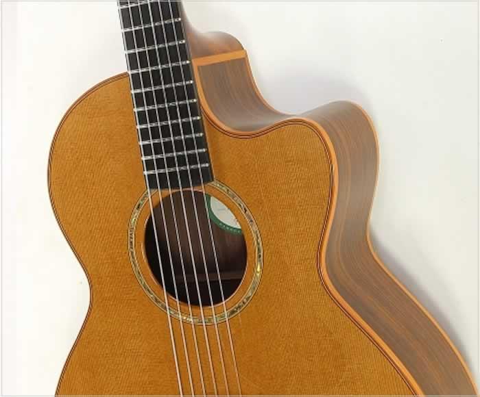 lowden s25j jazz series nylon string guitar 2003. Black Bedroom Furniture Sets. Home Design Ideas