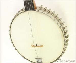 Lyon & Healy 5 String Banjo, c. 1895 - The Twelfth Fret