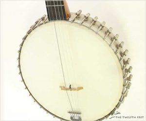 Lyon & Healy 5 String Banjo, c. 1895 - The Twelfth Fret