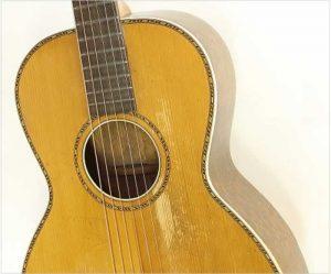 Lyon & Healy Washburn Oak Parlor Guitar, 1920s - The Twelfth Fret