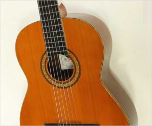 M. Sakurai No.7 Classical Guitar, 1975