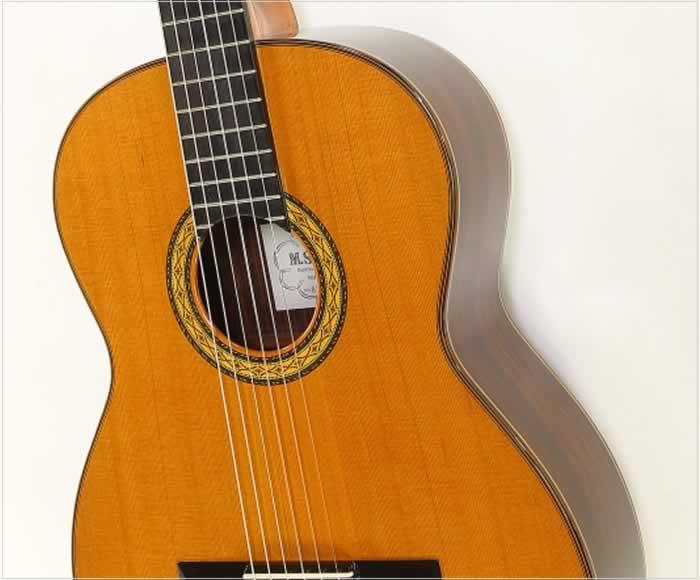 M. Sakurai No.8 Classical Guitar, 1977 - The Twelfth Fret