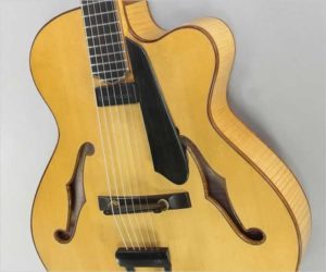 ❌ SOLD ❌  Maegen Wells Archtop Guitar, 2015