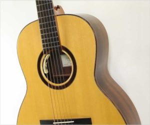 Mark Kett 13 Fret Brazilian Rosewood 000 Body Guitar, 2010