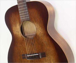 Martin 00015M StreetMaster Guitar, Distressed Satin