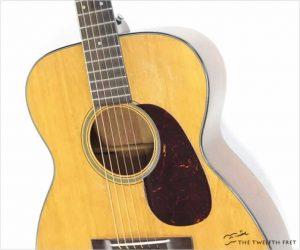 Martin 0018 Steel String Guitar Natural, 1950