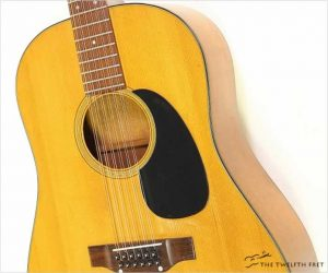 Martin D12 20 12 String Guitar Natural, 1968