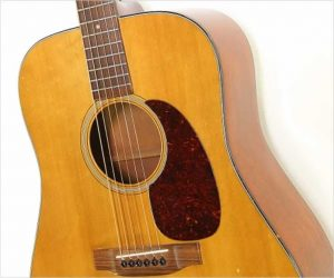 ❌SOLD❌  Martin D18 Dreadnought Steel String Guitar, 1956