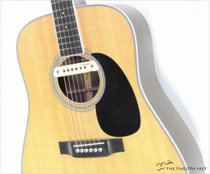 Martin D35 with LR Baggs M1a Pickup Natural, 2008 - The Twelfth Fret