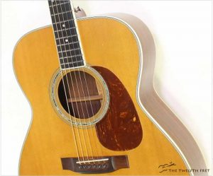 Martin M38 Steel String Guitar Natural, 1977 - The Twelfth Fret