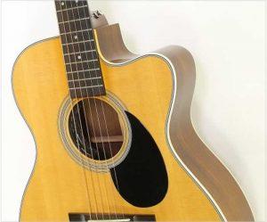 Martin OMC 28E Cutaway Steel String Guitar Natural, 2006 - The Twelfth Fret