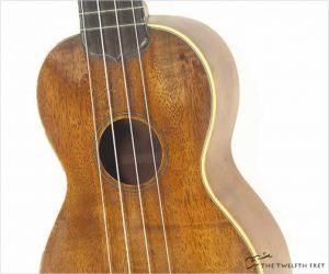 Martin Style 2K Soprano Koa Ukulele, 1923