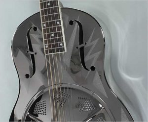 Michael Messer Lightning Style 0 Resonator Guitar - The Twelfth Fret