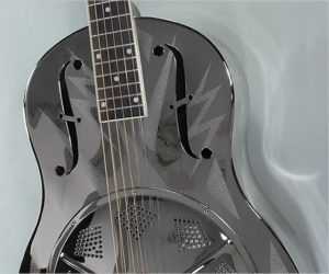 Michael Messer Lightning Style 0 Resonator Guitar