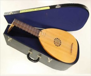 Michael Schreiner Renaissance Lute Maple Cherry, 1980 - The Twelfth Fret