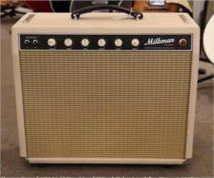 ❌SOLD❌ Milkman Sound Half Pint 5W Hand Wired Tube Amplifier Cream, 2017